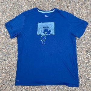 Nike Dri Fit Basketball T Shirt Mens XL